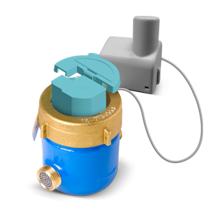 Pegasus water meter equipped with HALL Encoder and Radio