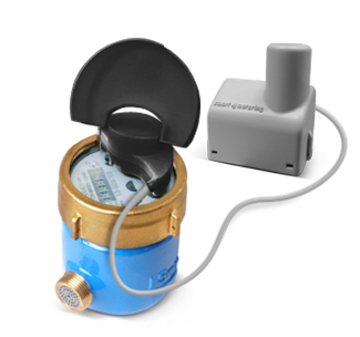 Pegasus water meter equipped with OPTO Encoder and Radio